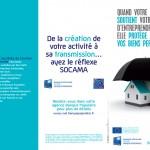 Depliant SOCAMA 100x210 3 volets 3-1